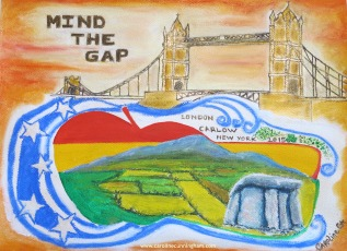 Mind The Gap Water Marked