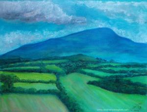 Mount Leinster Blue Water Mark