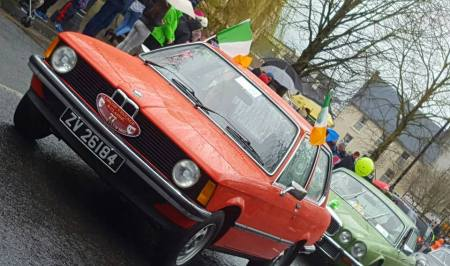 St. Patricks Day Classic Car